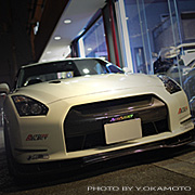R35 GT-R オリジナルパーツ専用ページ開設