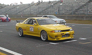 R32 Skyline GT-R Yellow Shark