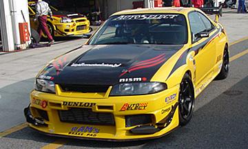 R33 Skyline GT-R Yellow Shark