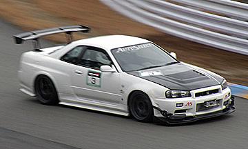 R34 スカイライン GT-R 開発車両
