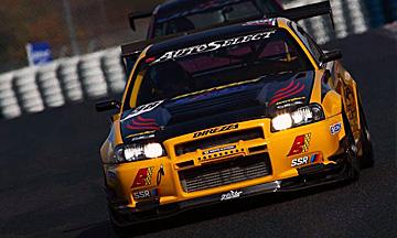 R34 Skyline GT-R Yellow Shark