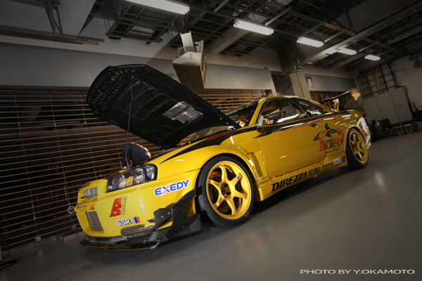 R34 Gt R Yellow Shark About Us Demo Car Archive Gt R